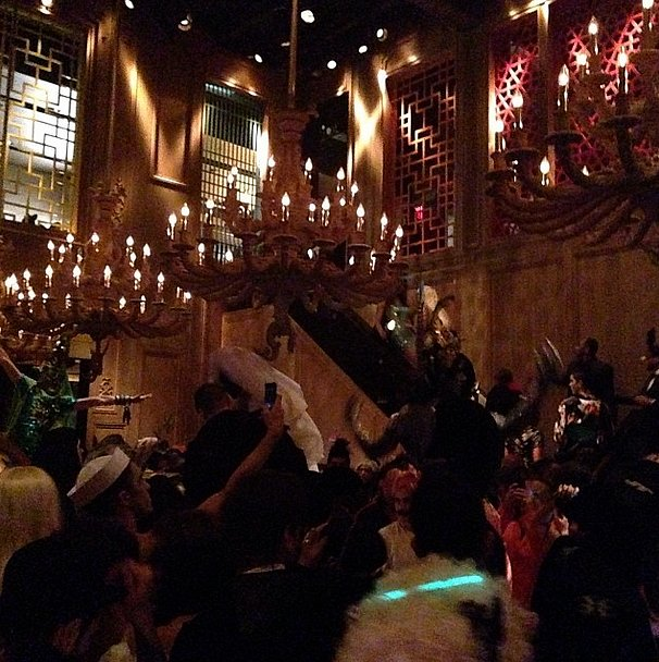 Bryanboy scoped out the festive scene at his New York bash. Source: Instagram user bryanboycom