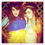 For Pairs: Zombie Snow White and Pocahontas