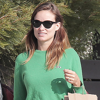 Olivia Wilde Out in LA After Pregnancy News