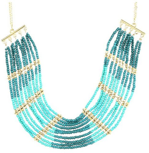 Obey - Sunsets Tiered Necklace (Jade) - Jewelry