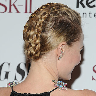 Kate Bosworth's Braids at the Big Sur Premiere