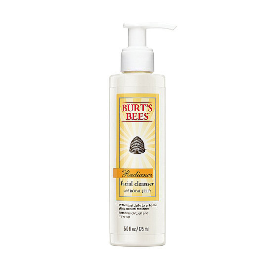Burt's Bees Radiance Daily Cleanser With Royal Jelly ($10) helps you wash away a dull complexion with fruit acids and jojoba beads. Plus, royal jelly is infused to deliver nutrients to your skin for a healthier glow.