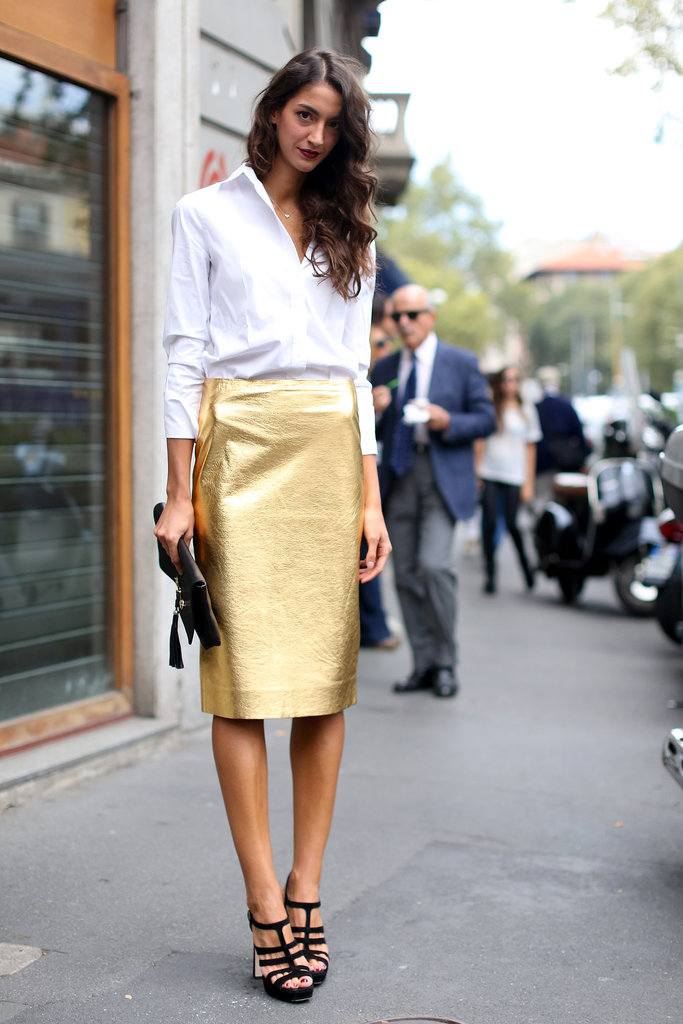 Metallics For Daytime