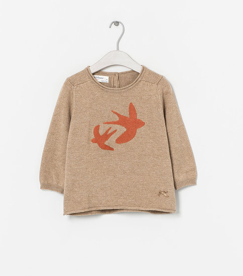 Zara Kids Printed Sweater