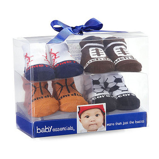 Baby Essentials' Four-Pack Sports Socks