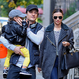 Miranda Kerr and Orlando Bloom Kiss in NYC After Split