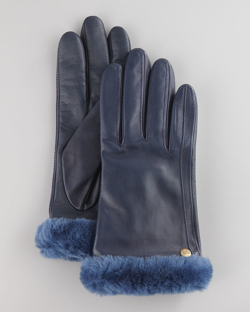 While the classic Ugg boot might be a polarizing piece of fashion, there can be no debate about the Australian brand's other cold-weather gear, like these Fur Trim Leather Smart Gloves