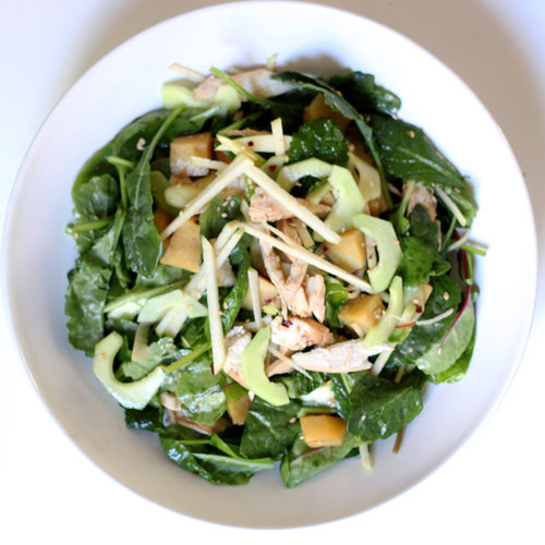 Baby Kale Sesame Chicken Salad Recipe