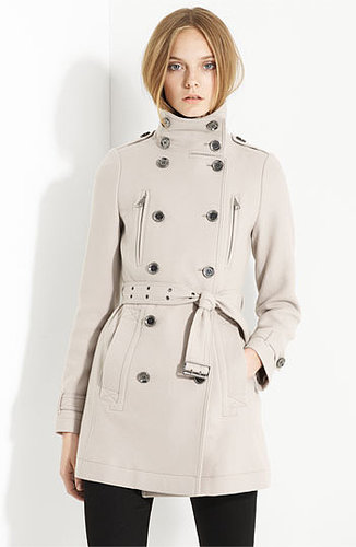 Burberry Brit 'Charcottley' Double Breasted Coat