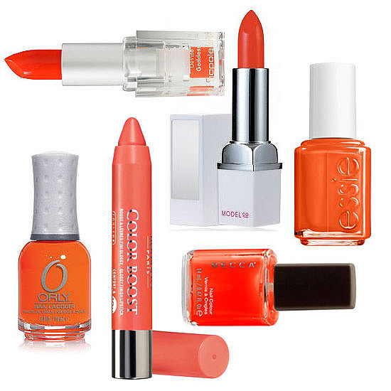Orange Lipstick + Polish to Try This Halloween