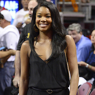 Gabrielle Union at Miami Heat Game