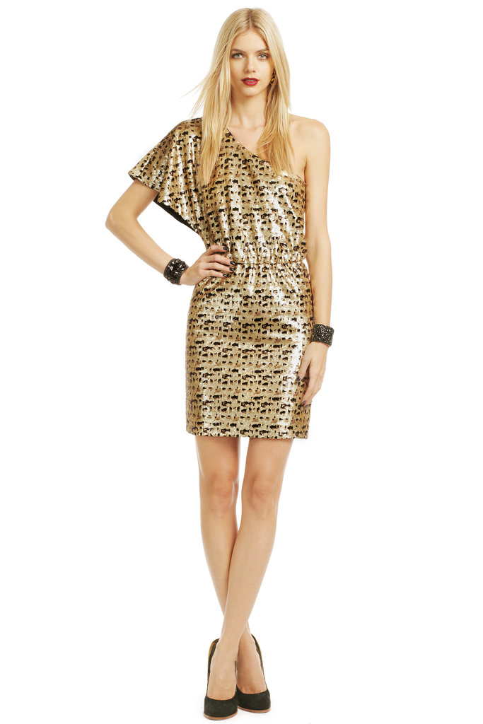 Trina Turk Speckled Sequin Mini Dress ($65)