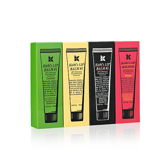 Why not give the gift of smooth, supple lips this season with Kiehl's Lip Balm Giftables ($30)?