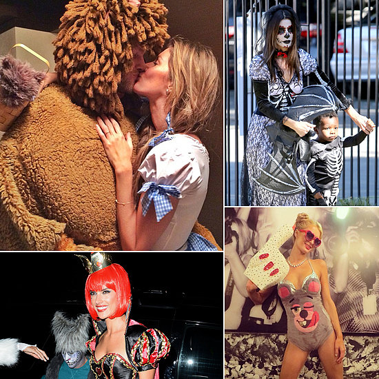 Celebrities Get Into the Halloween Spirit Early