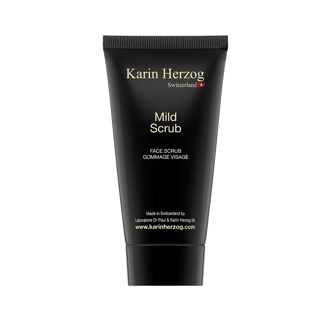 Think your skin is far too sensitive, so you skip your regular exfoliation? For shame! Karin Herzog's Mild Scrub ($50) will kick that fear straight out of your head. Gentle and effective, this scrub exfoliates with the help of ground white marble to unclog pores and keep your skin fresh and clean. — MD