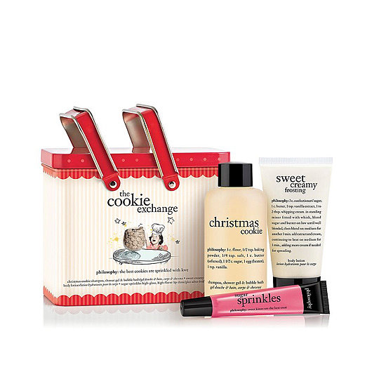 Philosophy always ups the ante during the holiday season, and its Cookie Exchange Bath and Body Set ($24) allows for the decadence of festive cookies, without the calories.