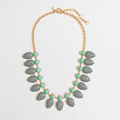 Factory crown petal necklace
