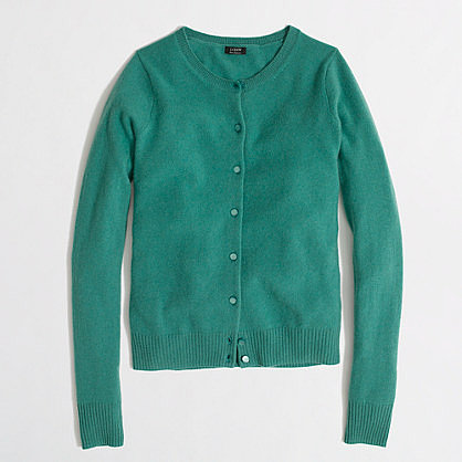 Factory cashmere cardigan