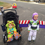 A Frog and Buzz Lightyear