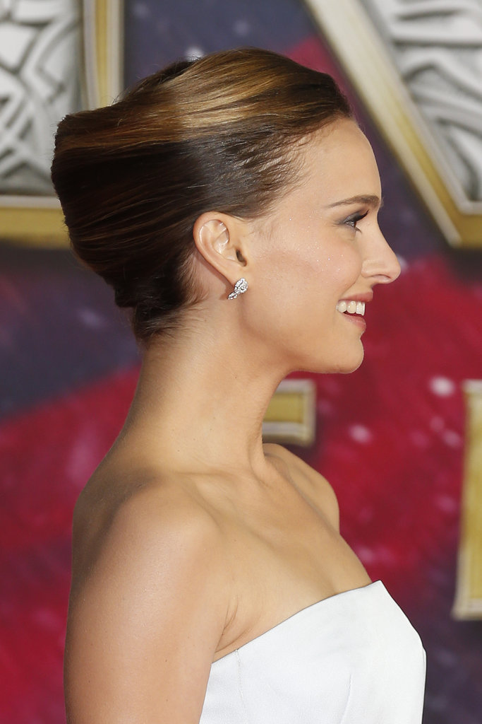 At the premiere of Thor: The Dark World, Natalie Portman's modern french twist turned heads.