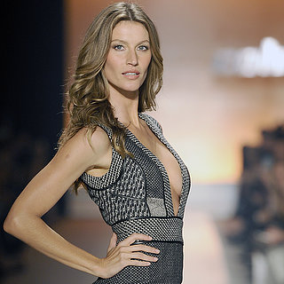 Gisele Bundchen And erin Heatherton On Catwalk In Sao Paulo