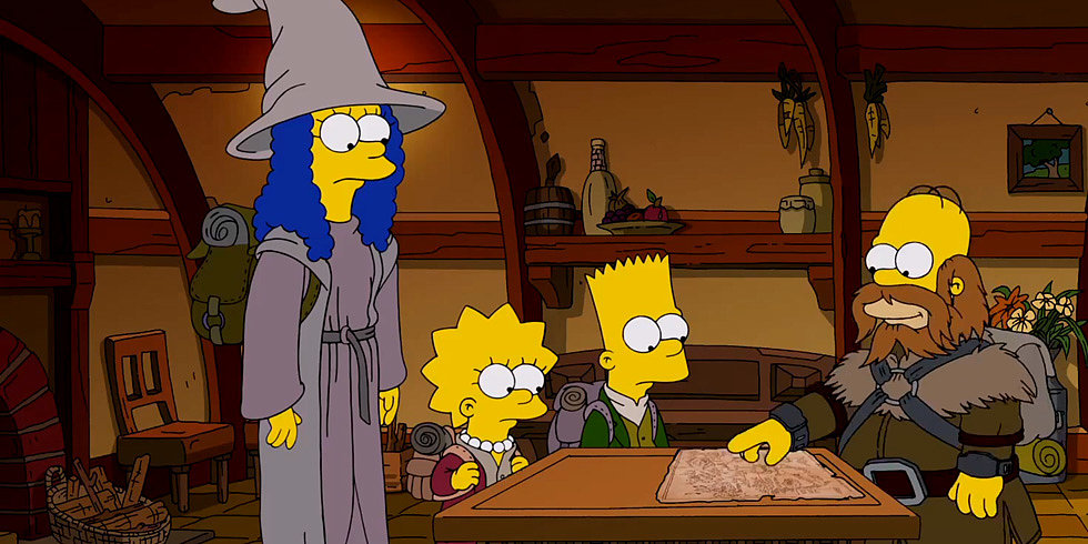 This Simpsons Hobbit Spoof Might Be Better Than the Actual Movie