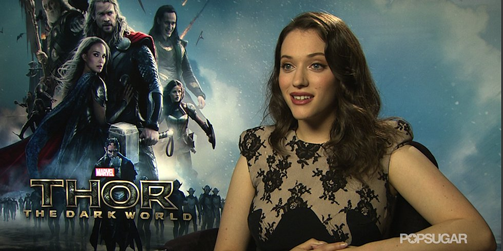 Kat Dennings Agrees: Everyone in Thor Is Gorgeous