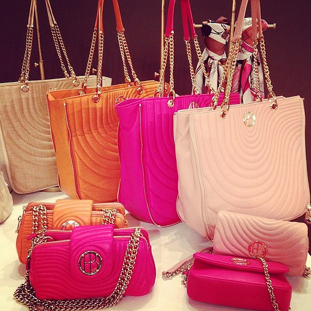 Carry the rainbow, thanks to Henri Bendel.
