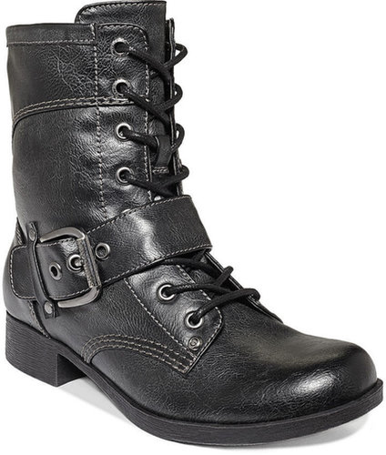 G by GUESS Bleaker Combat Booties