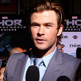 Chris Hemsworth Interview at Thor Premiere (Video)