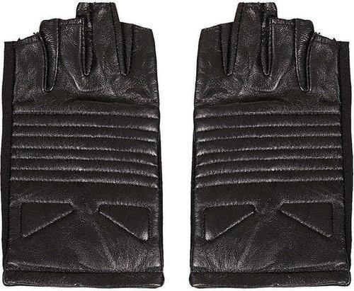 Fingerless Biker Gloves