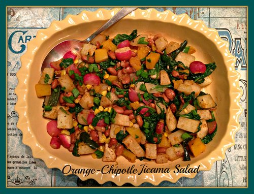 Orange Chipotle Jicama Salad