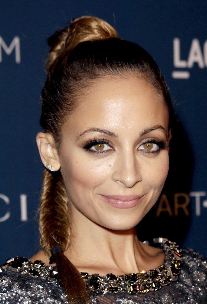 Nicole Richie's retro fishtail braid at the LACMA 2013 Art + Film Gala was a fun way to dress up a plait.