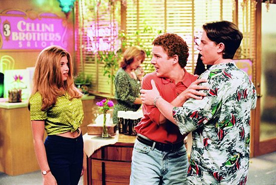 Boy Meets World Excited Gif Share this link