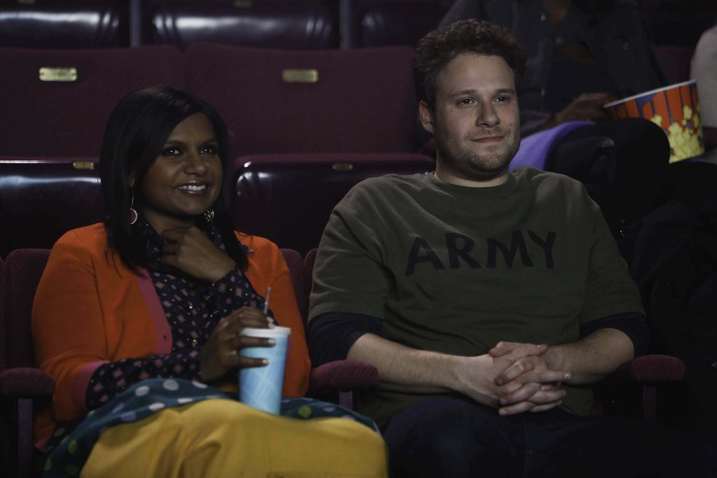5. Sam  Played by: Seth Rogen The nature of the relationship: They were each other's first kiss at Summer camp, and he comes to town briefly for a romantic reunion. Reason for ranking: Sam is the cute childhood crush that could have been so much more  . . . if he hadn't been shipped off to Afghanistan.