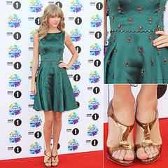 Taylor Swift Arrives At BBC Radio 1 2013 Teen Awards