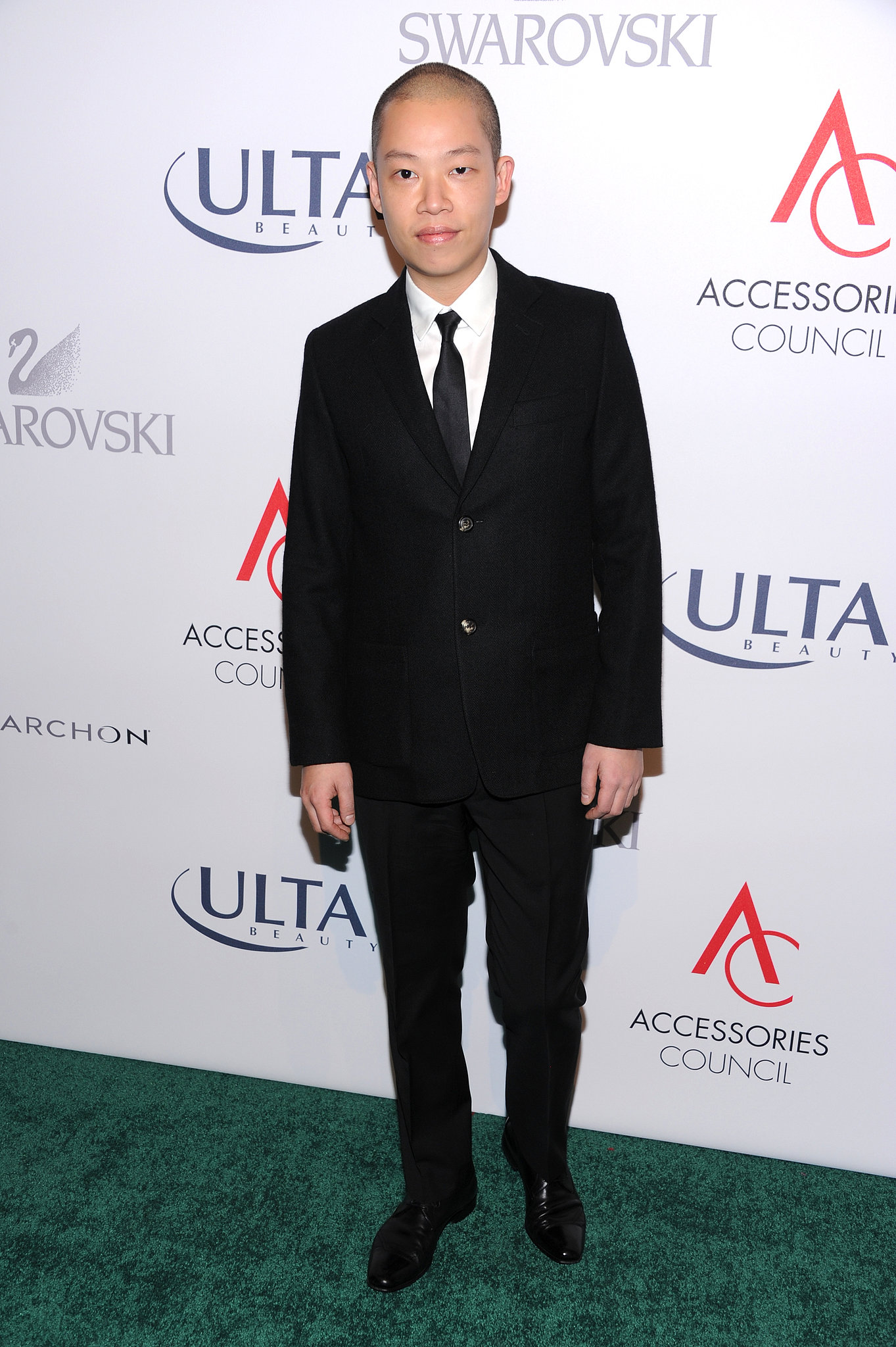 Jason Wu was well-suited at the ACE Awards in a slim suit.