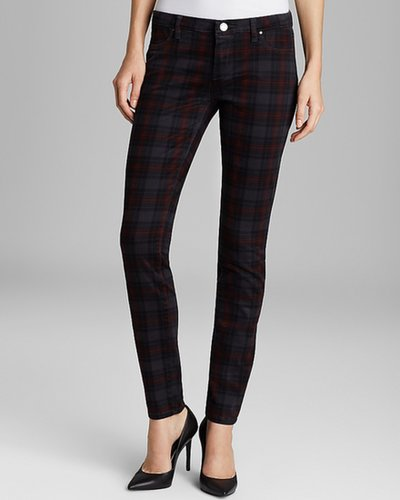 BLANKNYC Jeans - Plaid Skinny in Tartan Martin