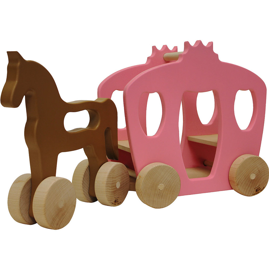 For 1-Year-Olds: Manny and Simon Horse and Carriage