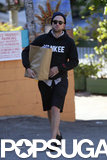 Robert Pattinson grabbed groceries in LA on Tuesday.