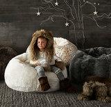 RH Baby & Child Faux Fur Bean Bags
