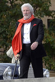 Richard Gere sported a full beard on the set of Franny in Philadelphia on Tuesday.