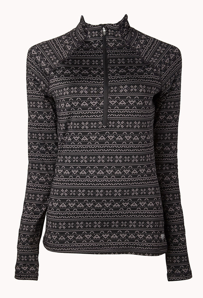 Forever 21 Fair Isle Running Jacket