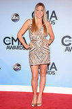 Colbie Caillat struck a pose on the CMAs red carpet.
