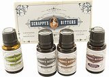 The Scrappy's Bitters gift pack ($17) includes four unique flavors: grapefruit, chocolate, lime, and cardamom.
