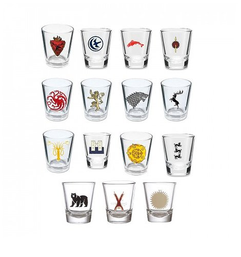 Game of Thrones House Sigil Shot Glasses ($74, originally $105)