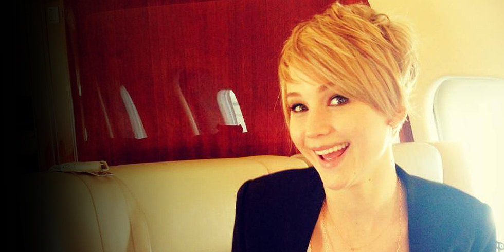 Jennifer Lawrence Chops It All Off