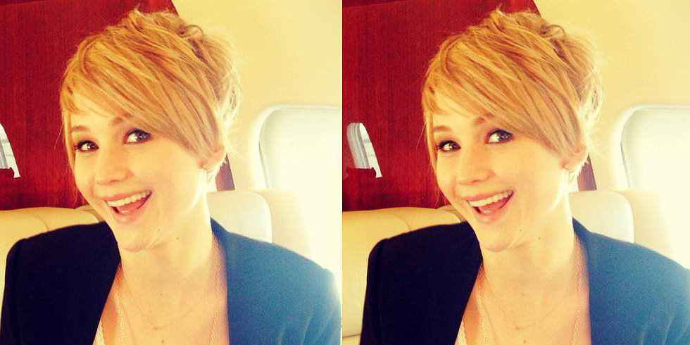 Confirmed! Jennifer Lawrence Has a Pixie Cut