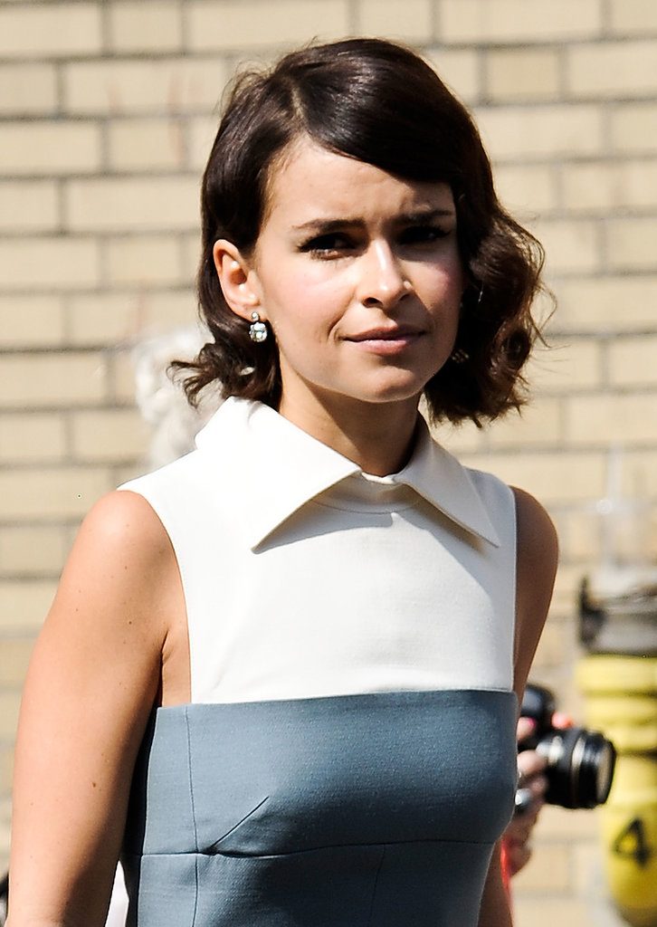 Miroslava Duma's curly bob is always a good look.
