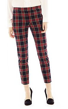 These Joe Fresh cropped plaid pan
